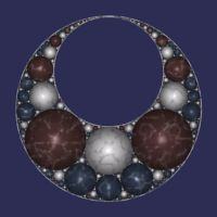 Fractal: Apollonian Gasket Orbit Trap
