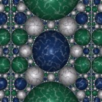Fractal: Apollonian Marble