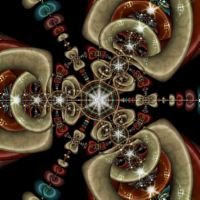 Fractal: Borromean Rings Orbit Trap
