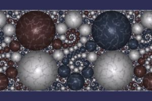 Fractal: Kleinian Group Orbit Trap